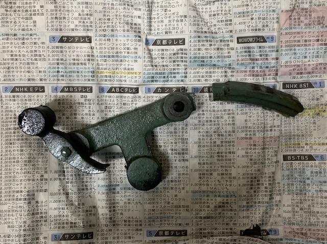 鋳物の溶接修理